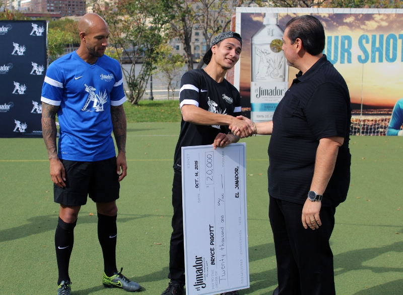 Lucky $20,000 Winner and Tim Howard Four Blocked Penalty Shots