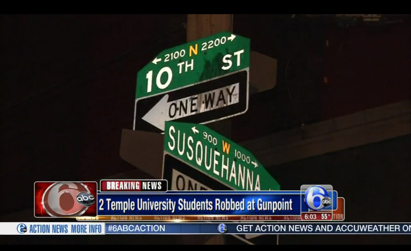 Temple Students Robbed at Gunpoint – Again!