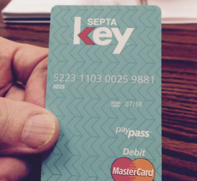 SEPTA Key fare system