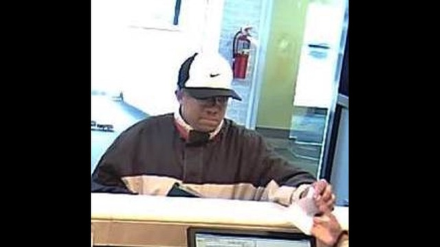 Whitman Bank Robber