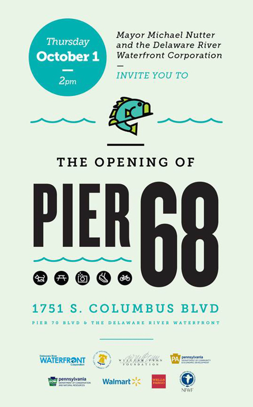 Pier 68 Unveils October