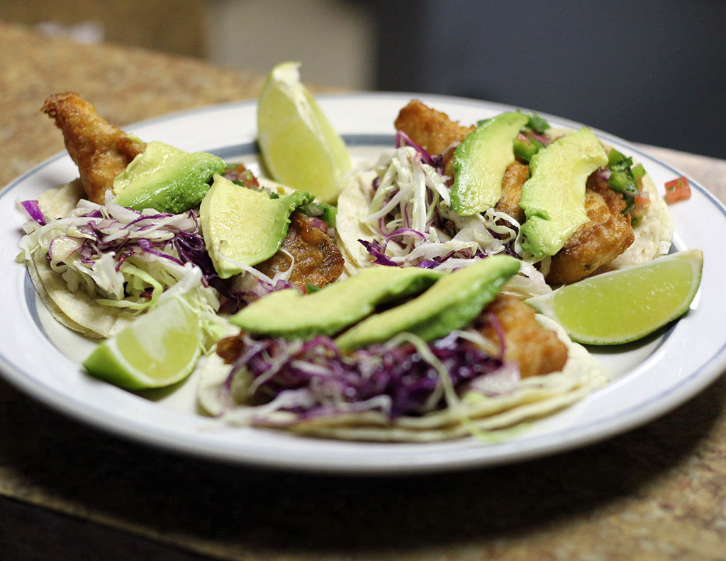 Fish Tacos from Los Jimenez