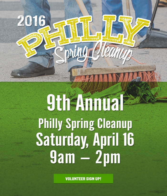 Philly Spring Cleanup postponed