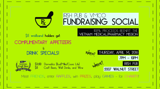 Irish Pub & VMCO Fundraising Social Event