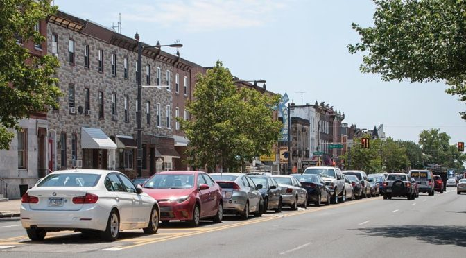 Illegal median parking battle divides South Philly residents