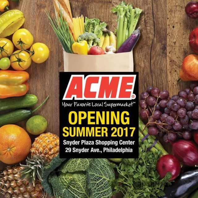 ACME opening Summer 2017