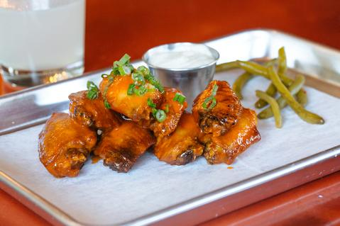 Otis & Pickles Speakeasy Wings